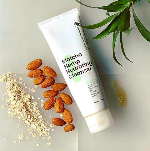 Krave beauty matcha hemp hydrating cleanser -120ml | Skin Bar