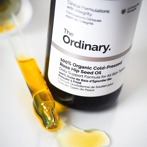 The Ordinary 100% cold pressed Rosehip seed oil -30ml