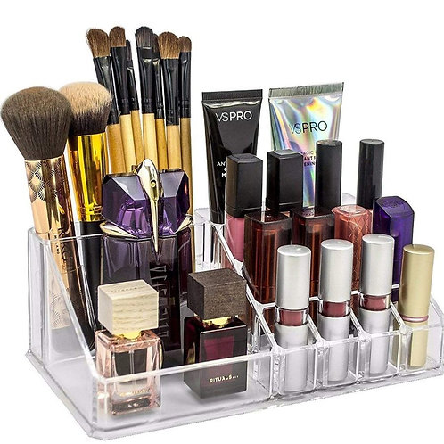 16 cavity cosmetic organizer