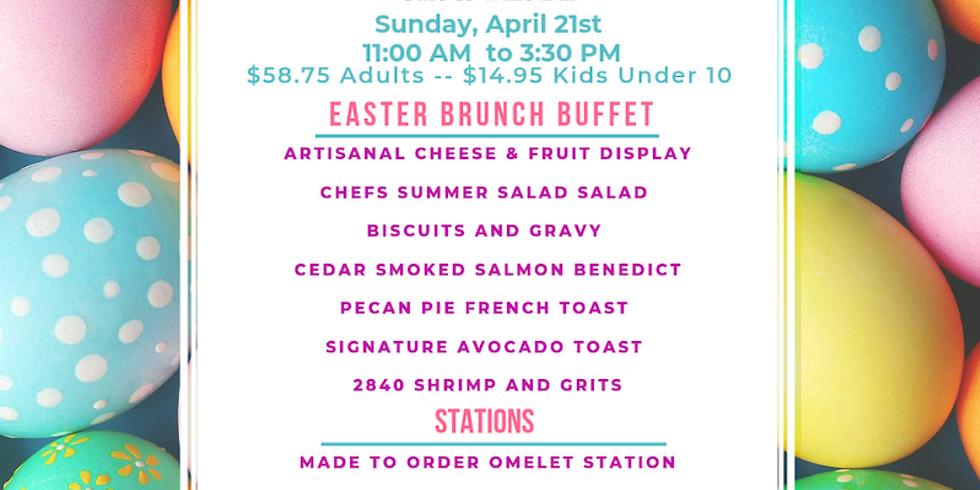 Easter Brunch Buffet Pop Up