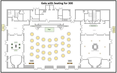 Gala with Seating for 300