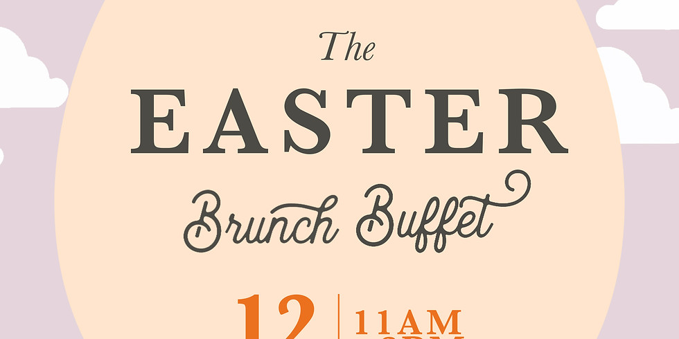 The Easter Brunch Buffet with the Easter Bunny