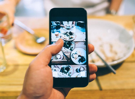 A Restaurant in London Offers Unique Instagram Kits to Diners Along Side Meals