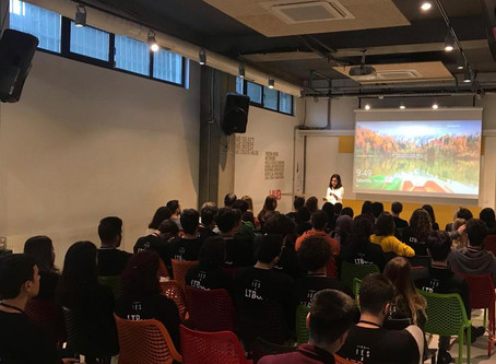 Rana Babaç Çelebi, Koç Üniversitesi 2018 LEAP Girişimci Hızlandırma Programı, Açılış Konuşmacısı Old