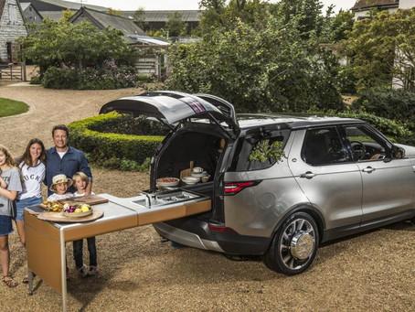 #CookforMarCom: Meet Land Rover's Kitchen on Wheels for Jamie Oliver