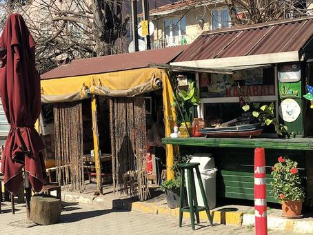 İstanbul'da En Sevdiğim Sokak Köftesi...