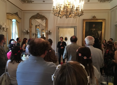 Midsummer Celebrations At The Swedish Palace with Mert Fırat