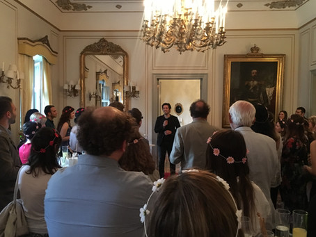 Midsummer Celebrations At The Swedish Palace with Mert Fırat