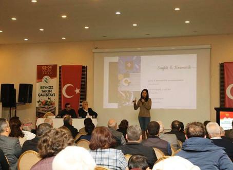 Beykoz Tarım Çalıştayı'nda Tıbbi Bitkilerden Gelir Elde Etme Modellerini Konuşuldu