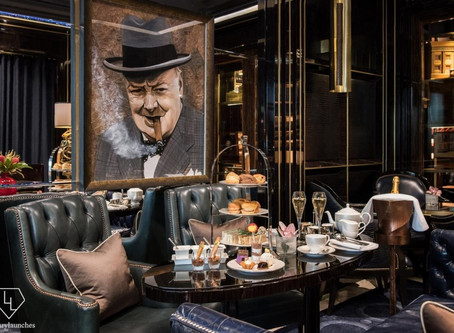 Winston Churchill Themed Afternoon Tea by The Wellesley London
