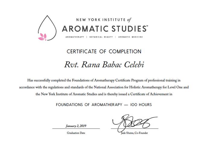 Rana Babaç Çelebi New York Institiute of Aromatic Studies.png