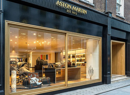 """Aston Martin Launches Its 1st """"Global Experience Centre"""" in London"""