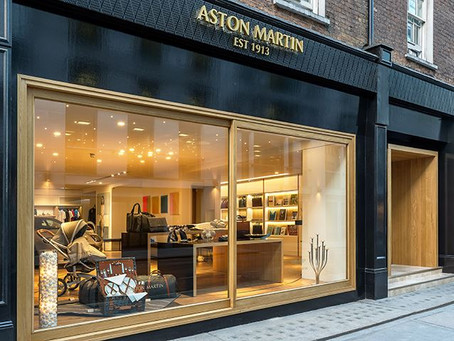 "Aston Martin Launches Its 1st ""Global Experience Centre"" in London"