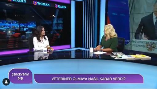 WomanTV'de Ahu Özyurt ile Canlı Yayın