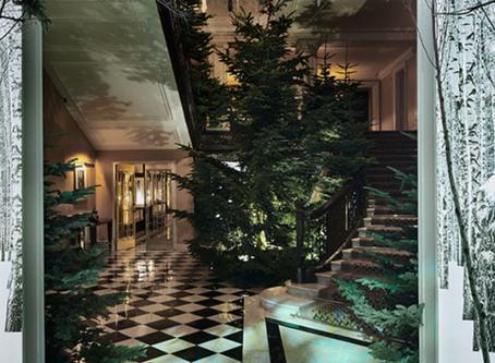 Apple Chief Design Officer Imagines Claridge's Christmas Tree