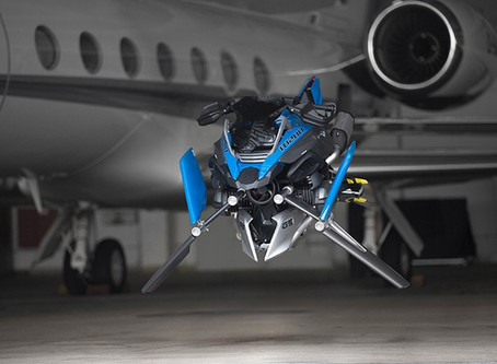 BMW Collaborates with Lego for a Hoverbike Concept