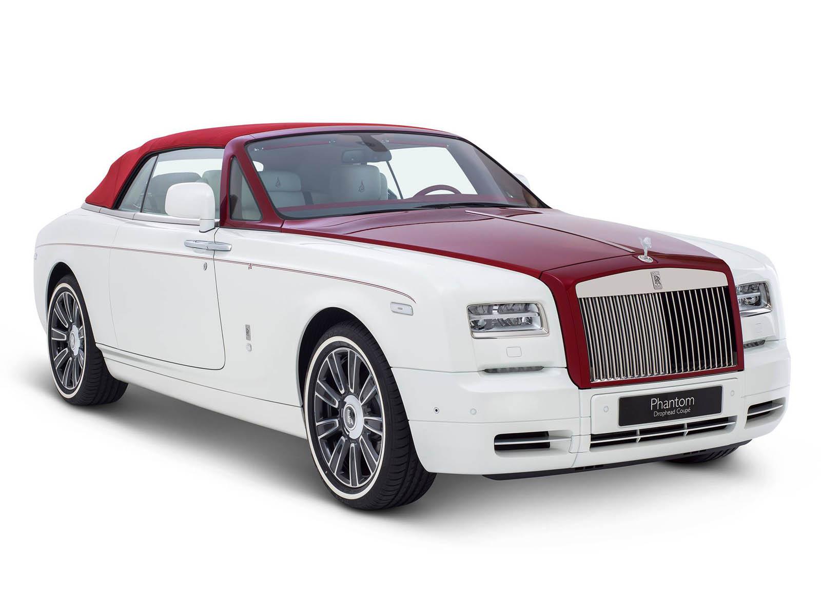 Phantom Drop-dead Coupe inspired by Desert Rose