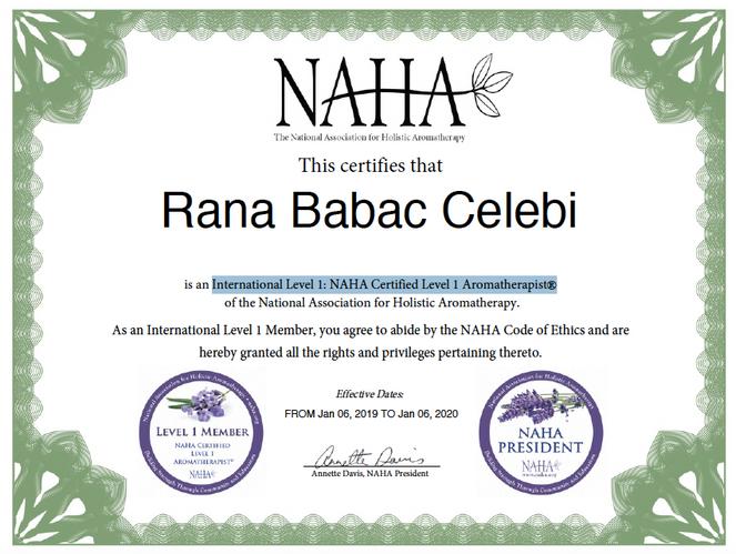 Rana Babaç Çelebi NAHA Level 1.png