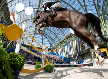 Hermès Hosts the 7th Edition of the Saut Hermès at the Grand Palais