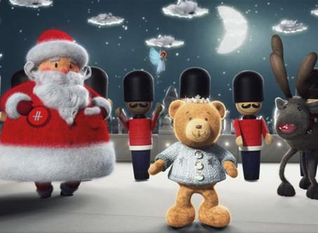 Harrods Kicks of The Festive Season with Hugh the Bear