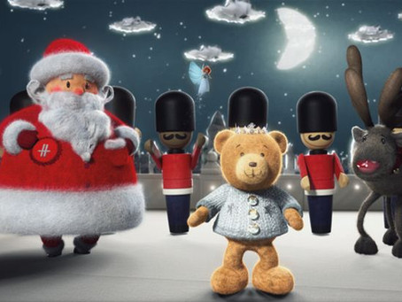 Harrods Kicks of The Festive Season with Hugh the Bear