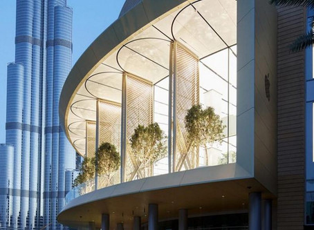 Apple's New Flagship Store in Dubai Beats The Heat