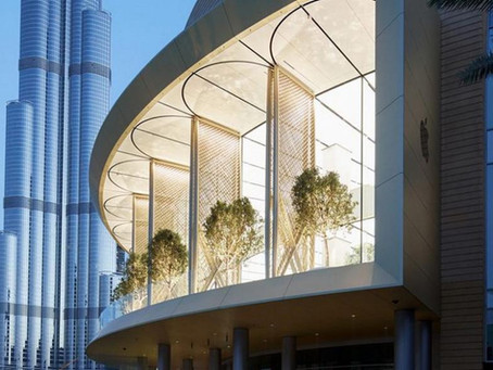 Apple's New Flagship Store in Dubai Beats The Heat