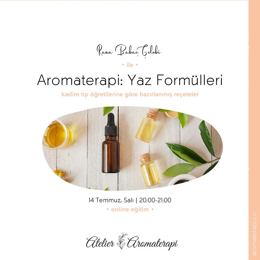 Aromaterapi: Yaz Formülleri