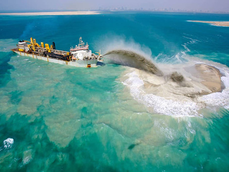 Dredging Turkey Hits The Ground Running