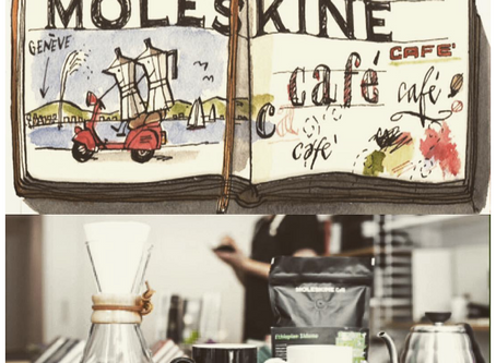 Moleskine Opens an Upscale Cafe in Milan