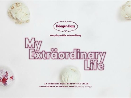 A 'Multi-Sensory' Ice-Cream Pop-up in London by Häagen-Dazs