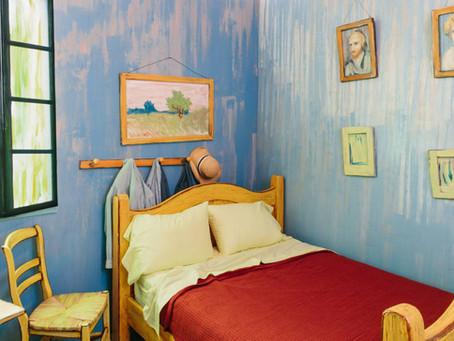 Van Gogh's Famous Bedroom Recreated