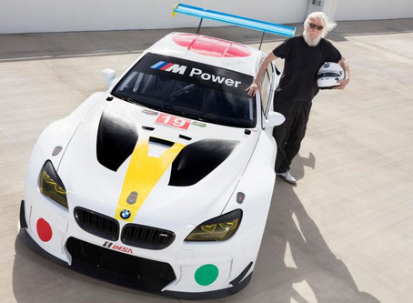 BMW Unveils Its 19th Art Car by John Baldessari