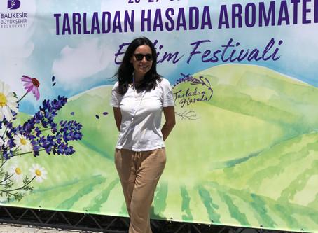 Tarladan Hasada Aromaterapi Eğitim Festivali'nin Ardından