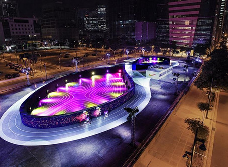 Nike's Unlimited Stadium in Manila | World's First Full-Size LED Running Track