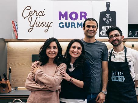 """MorGurme, CerciYusuf.org ve Mutfak Müdürü """"İçinizi Isıtacak Kış Tarifleri"""" ile Kanyon Inte"""