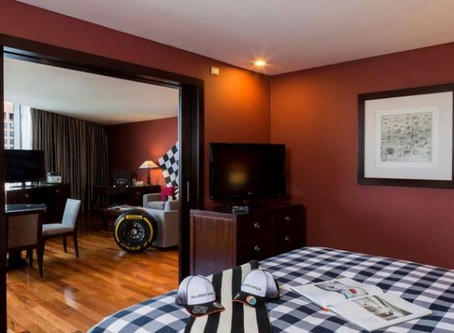 McLaren-Honda Inspired Suite Ramped up The Excitement for the Grand Prix