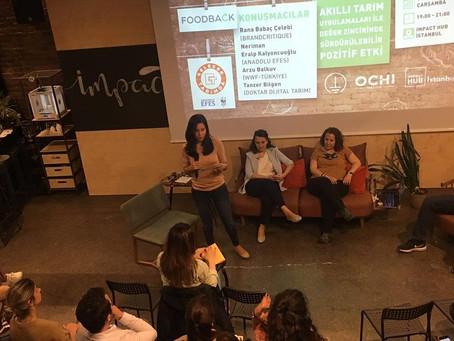 """FoodBack """"Akıllı Tarım ile Değer Zincirinde Sürdürülebilir +Etki Paneli Gerçekleşti"""""""