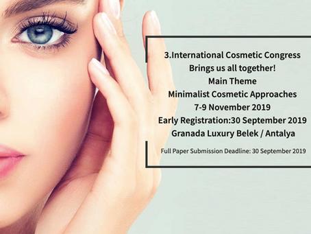 Markalarımızdan CerciYusuf.org'un Destekçisi Olduğu Uluslararası Kozmetik Kongresi'nde Bu Se