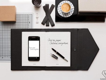 Montblanc Continues the Tradition of Fine Writing with Augmented Paper