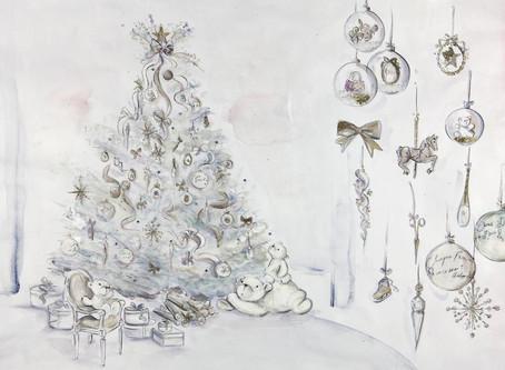 Dior Creates Their First Christmas Tree