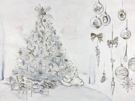 Dior Creates Their First Christmas Tree