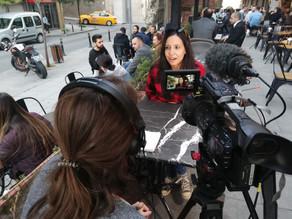 Fransız Televizyonu ile Röportaj