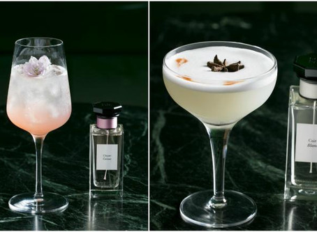 Givenchy on the menu? The Couture House's Perfumes Reimagined as Cocktails
