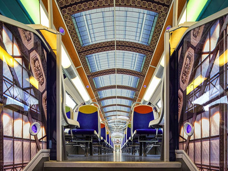 3M Turns a French Public Train into 'Object de Art'