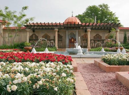 """St. Louis'de Bir """"Osmanlı Bahçesi"""""""