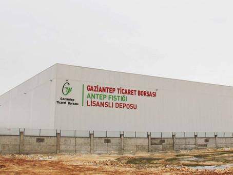 Türkiye'nin İlk Lisanslı Antep Fıstığı Deposu Açıldı
