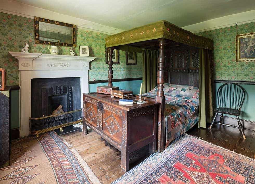 Beatrix Potter Evi - Yatak Odası