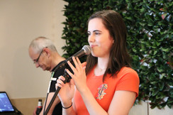 Claire Evans - Dots Singing student