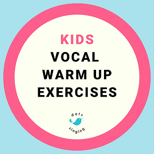Kids Vocal Warm Up Exercises